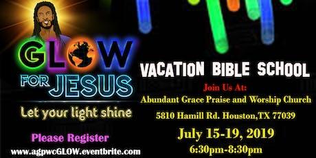 Vacation Bible School: Glow For Jesus! tickets