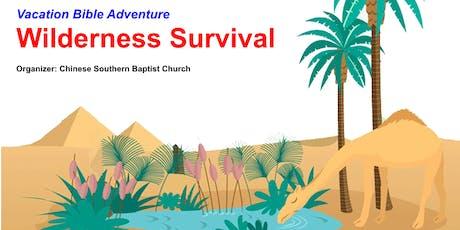[Vacation Bible Adventure] Wilderness Survival tickets