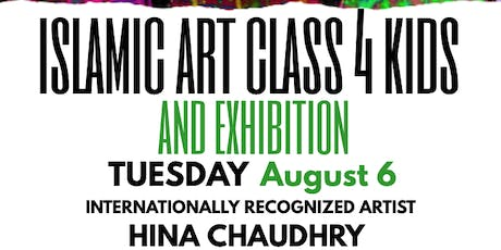 Islamic Art Class 4 KIDS with Artist Hina Chaudhry, New York tickets