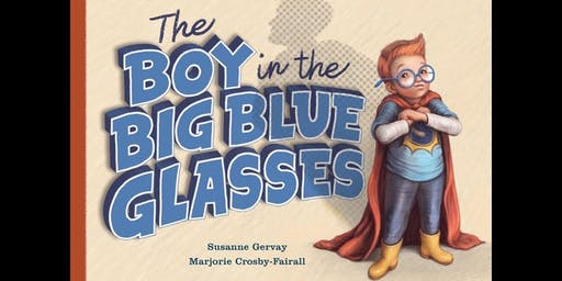 Meet the Author: Susanne Gervay OAM & illustrator Marjorie Crosby-Fairall with The Boy in the Big Blue Glasses