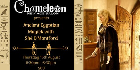 Ancient Egyptian Magick with Shè D'Montford tickets