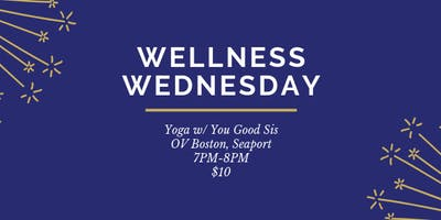 Wellness Wednesday Yoga