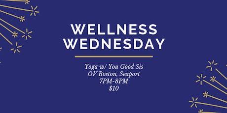 Wellness Wednesday Yoga tickets