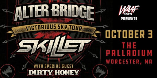 WAAF Presents: Alter Bridge & Skillet - Victorious Sky Tour