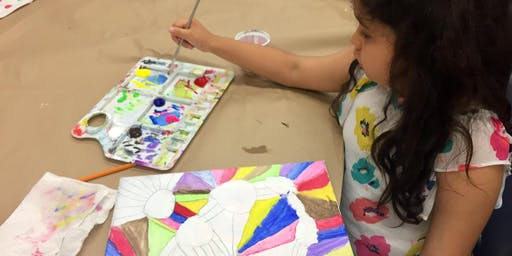 Week 1 Kids Club Art Summer Camp