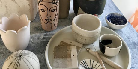 The ultimate clay day + workshop tickets
