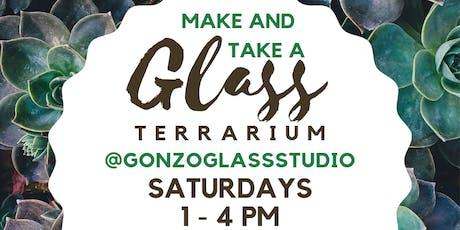 Make & Take a Glass Terrarium tickets