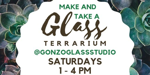 Make & Take a Glass Terrarium