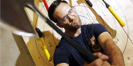 Guys night out: Bad Axe Throwing and Hooters [Daly City] tickets