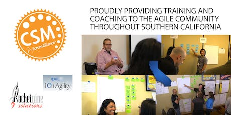 Certified Scrum Master Training (CSM) San Diego, CA August 2019 tickets