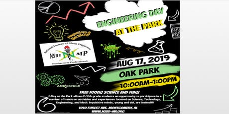 Engineering Day At The Park (NSBE Montgomery Professionals) tickets