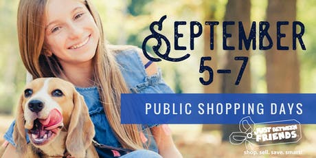 JBF of Central Houston--Public Shopping Days (FREE) tickets