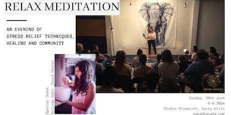 RELAX Meditation  tickets