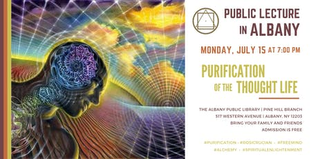"Public Lecture in Albany - ""Purification of the Thought Life"" tickets"