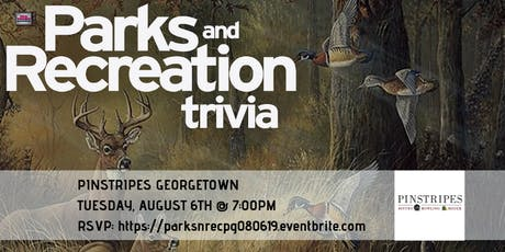Parks and Rec Trivia at Pinstripes of Georgetown tickets