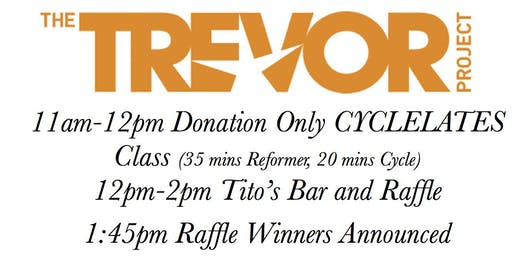 PRIDE RIDE WITH BAR & RAFFLE TO FOLLOW (ALL PROCEEDS GO TO TREVOR PROJECT)