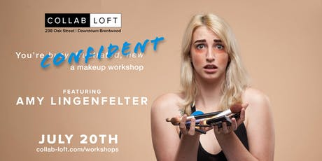 Confident- A Makeup Workshop tickets