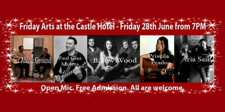 Friday Arts at the Castle Hotel - Friday 28th June from 7PM tickets