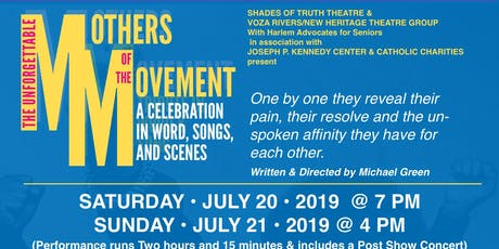 THE UNFORGETTABLE MOTHERS OF THE MOVEMENT tickets