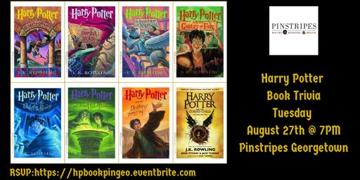 Harry Potter Book Trivia at Pinstripes Georgetown