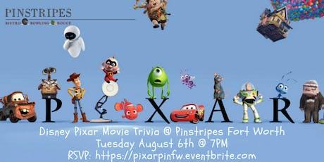 Disney Pixar Movie Trivia at Pinstripes Fort Worth tickets