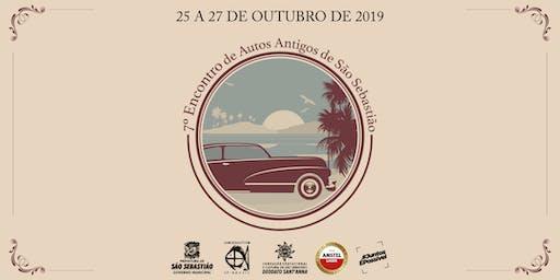 7° Encontro de Autos Antigos de São Sebastião