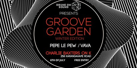 Drunk On Sound - Groove Garden Winter Edition tickets