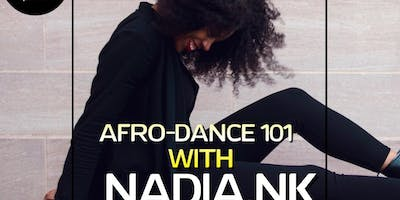 Donation Afro Dance Class (101 Edition) with Nadia - Collaboration with Non-profit(12:15 CHECK IN)