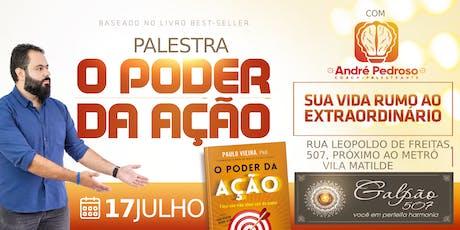 Palestra Andre Pedroso ingressos