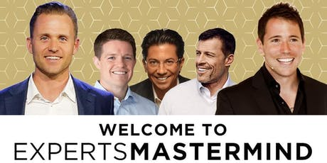 2-DAY EXPERTS MASTERMIND INCREASE YOUR INCOME, INFLUENCE, & IMPACT tickets