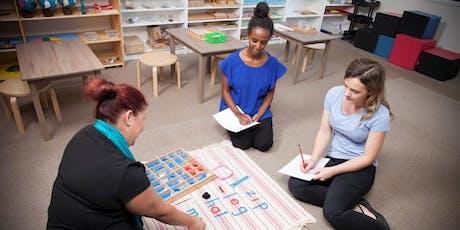 Fundamentals of Montessori Workshop tickets