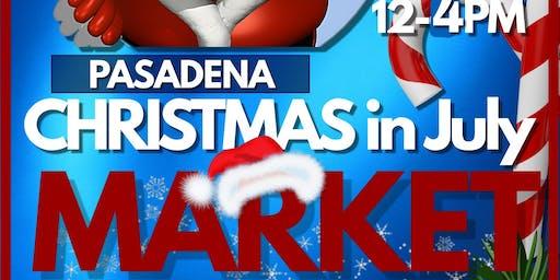 Christmas in July at Pasadena Trade Days