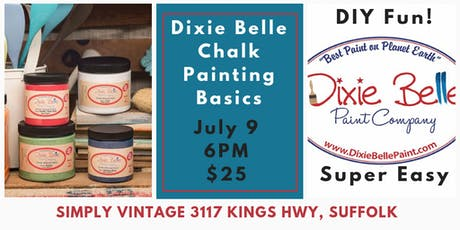 Dixie Belle Chalk Painting Basics tickets