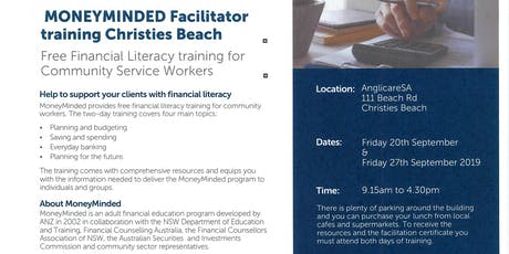 MONEYMINDED TRAINING Christies Beach  tickets