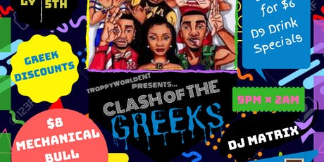 CLASH OF THE GREEKS tickets