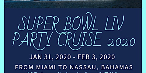 Lipsticks and Laughs Super Bowl Party Cruise 2020
