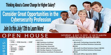 Cybersecurity Training Center Open House tickets