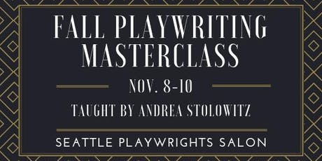 Playwriting Masterclass with Andrea Stolowitz tickets