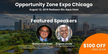 [$100 OFF EARLY BIRD SPECIAL] Opportunity Zone Expo Chicago tickets