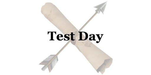 Test Day 9/29/19