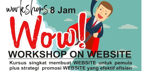 WORKSHOP ON WEBSITE/LANDING PAGE untuk UMKM tickets