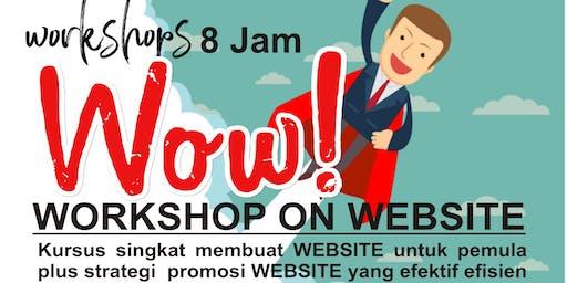 WORKSHOP ON WEBSITE/LANDING PAGE untuk UMKM