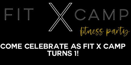 Fit X Camp Fitness Party tickets