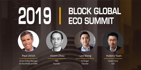 2019  BLOCK GLOBAL  ECO SUMMIT tickets
