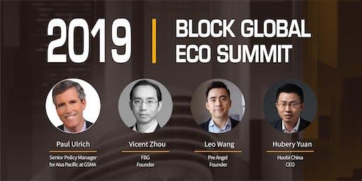 2019  BLOCK GLOBAL  ECO SUMMIT