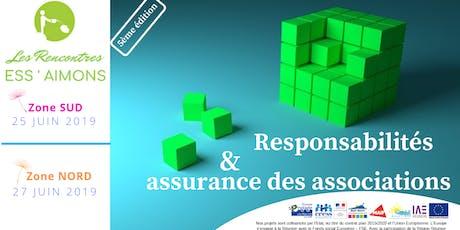 ESS'Aimons Zone NORD- Responsabilités et assurance des associations billets