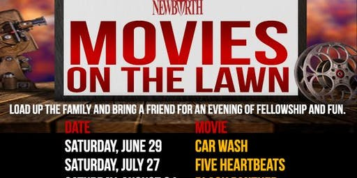 """Movies on the Lawn """"Carwash"""""""