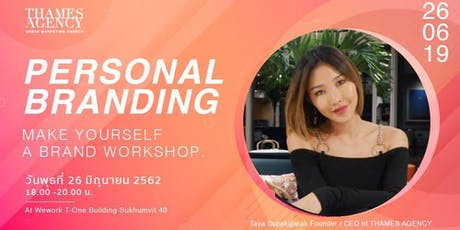 Personal Branding Make Yourself a Brand Workshop tickets