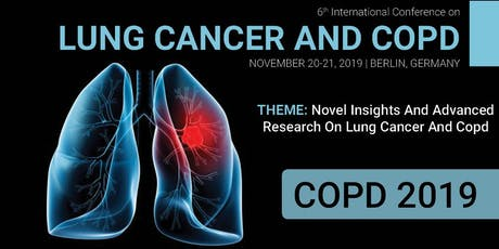 6th International Conference on Lung Cancer and COPD tickets