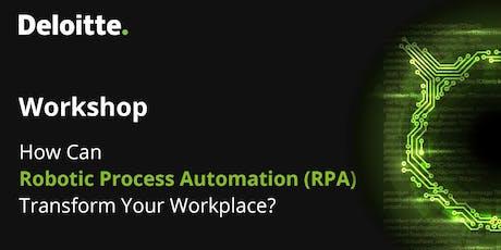 TEC Vietnam X Deloitte |Workshop| How Can Robotic Process Automation (RPA) Transform Your Workplace?  tickets